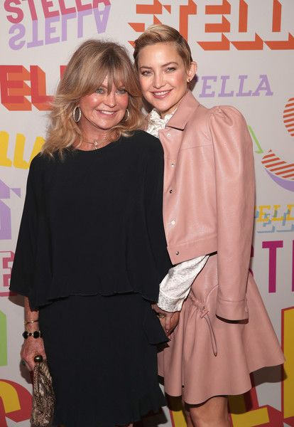 Goldie Hawn and Kate Hudson attend Stella McCartney's Autumn 2018 Collection Launch.