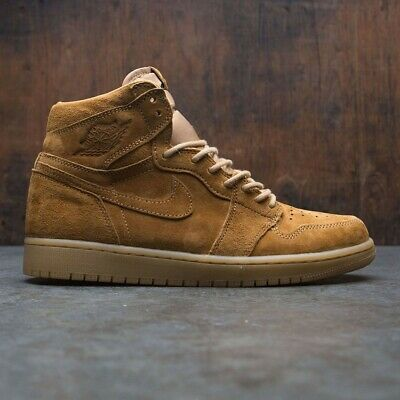 Nike Air Jordan 1 Retro High Og Wheat Golden Harvest Size 15