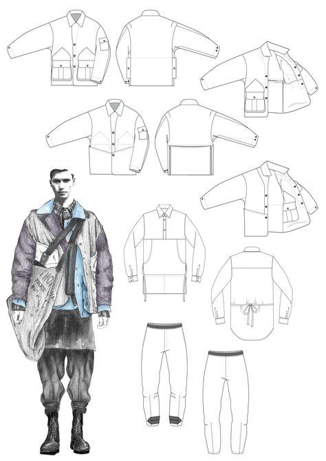 55 New Ideas Fashion Portfolio Design Illustration
