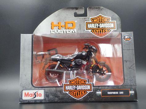 31 Harley Davidson Modell 2007 XL 1200N Nightster Maisto Motorrad 1:18