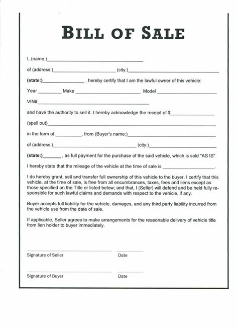 car buyer bill of rights refund form by redflagcharlotte - buyers - basic liability waiver form