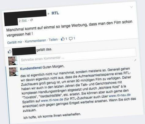 Dieser witzige Fake-Kundendienst auf Facebook treibt