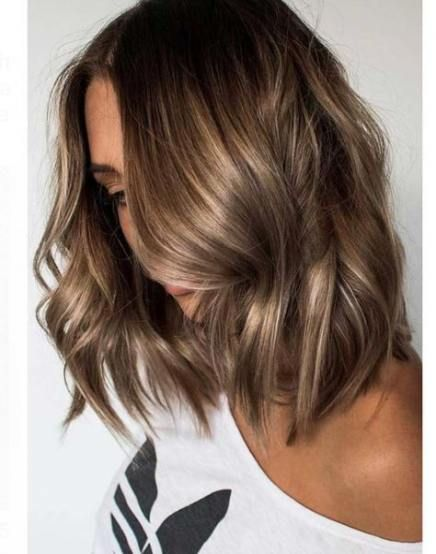 Hair Color Dark To Light Golden Brown 56 Ideas Light Hair Color Brunette With Blonde Highlights How To Curl Short Hair