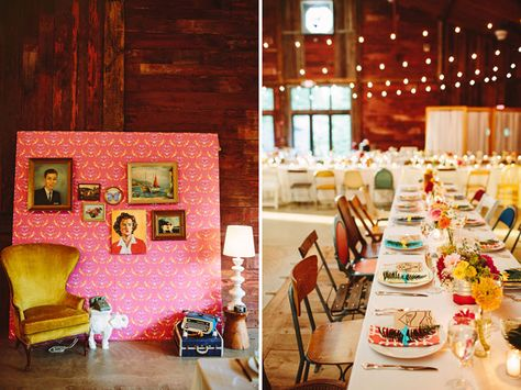 I love absolutely everything about this Wes Anderson inspired wedding.