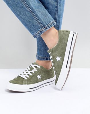 Shop Converse One Star suede oc sneaker