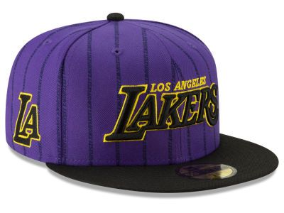 Los Angeles Lakers New Era Nba City Series 2 0 59fifty Cap New Era Fitted Hats Cool Hats