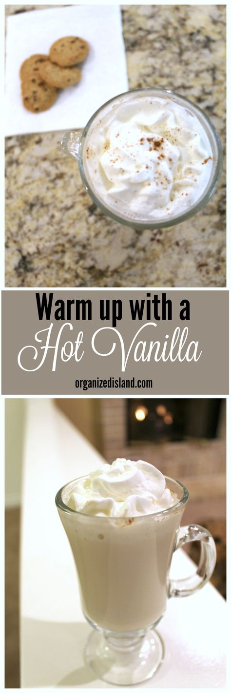 :Warm up with this hot drink recipe for Hot Vanilla Milk. So good and easy to make.
