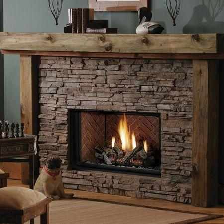 Kingsman HB3628 Zero-Clearance Direct Vent Gas Fireplace Heater ...