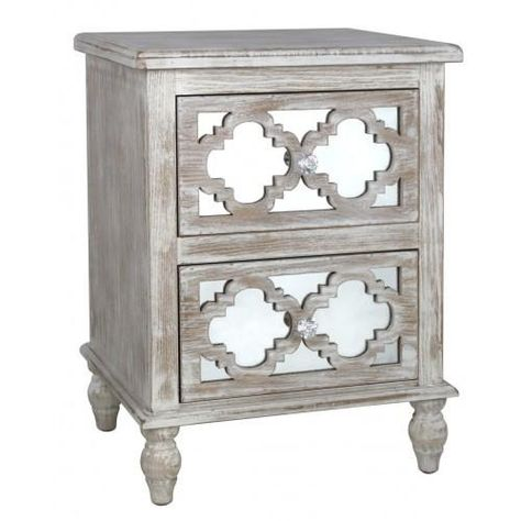 This Hamlin Beach 2 Drawer Cabinet can be used as a lamp table or a bedside, To fit in with the rest of the range. Solid wood is limed to make the frame, Then t