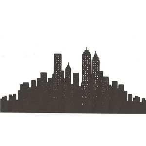 New York City Skyline Silhouette Google Search What To Draw Pinterest Skylines And Silhouettes