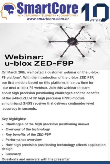 Webinar: u-blox ZED-F9P high precision GNSS technology deep dive