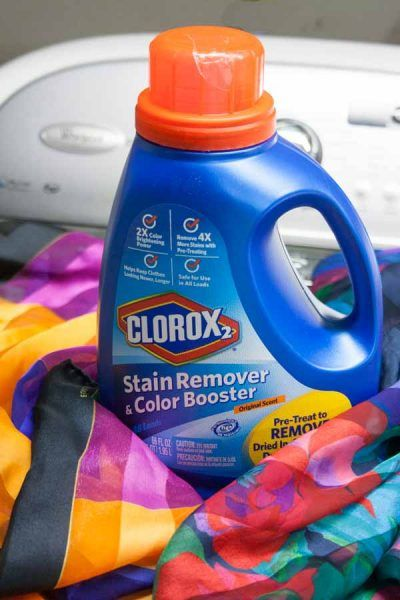 Keep Your Memories Bright With Clorox 2 Stain Remover And Color