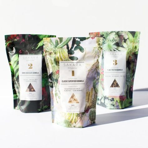 The Sakara Granola Collection-- Joint favoute design. All very lovely