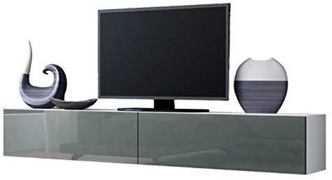 Jadella Tv Board Lowboard Migo Hangeschrank Wohnwand 180cm Weiss