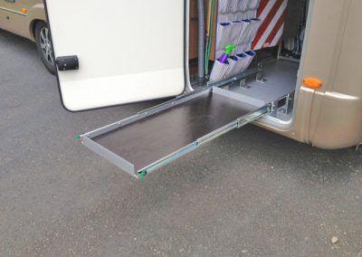 Auszug Mit Bodenverankerung Idea Regale Camping Ausbau Wohnmobil Ausbauen Campingbus Ausbau