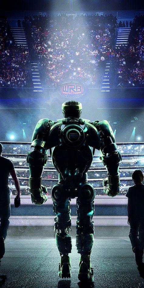 Real Steel, robot, movie, 1080x2160 wallpaper