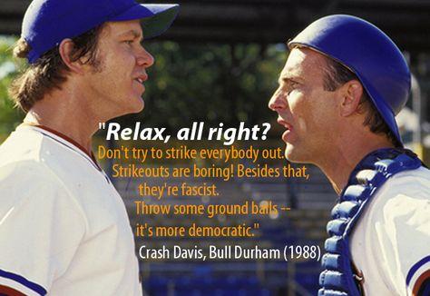 Bull Durham quote