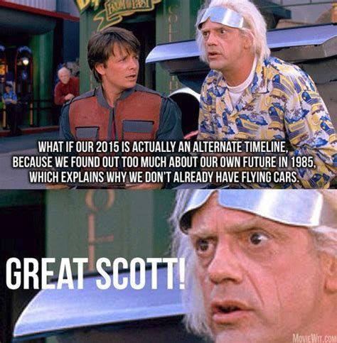 Backtothefuturequotesfacts Back To The Future The Future Movie Future Memes