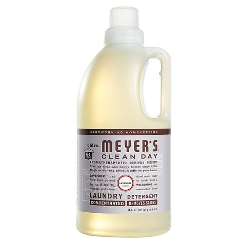 Mrs Meyer S Clean Day Liquid Laundry Detergent Lavender Scent