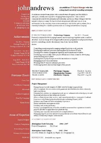 Assistant Project Manager Resume Inspirational Project Management