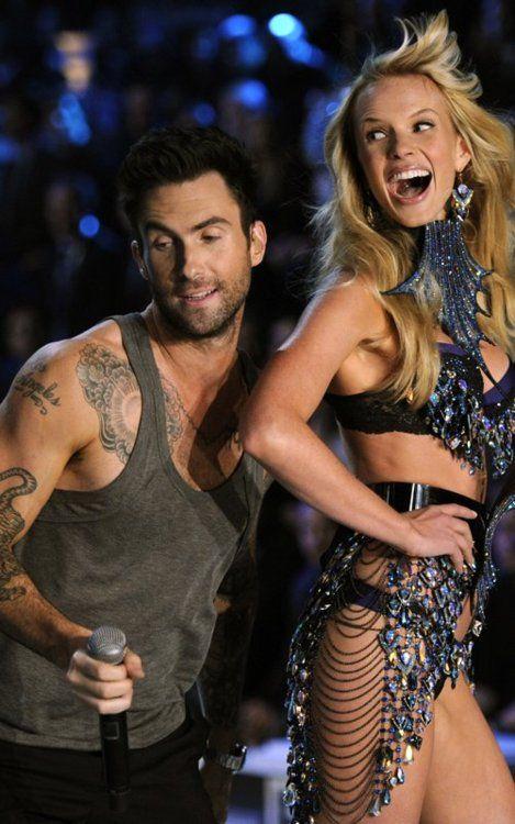 Victoria Secret modellen dating Maroon 5 absolute datering van sedimentaire rotsen