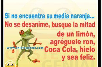 Chistes Cortos Buenos Si No Encuentra Su Media Naranja Memes