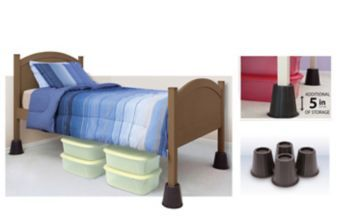 4 In Round Bed Risers Pk Canadian Tire In 2020 With Images Bed