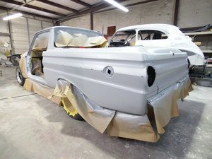1965 Ford Falcon Ranchero - As soon as it came back we expoy sealed it.