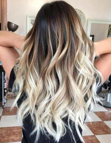 50 Ideas Hair Ombre Platinum Blonde Balayage Hair Best Ombre