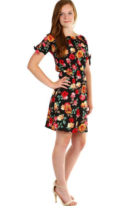 0dd0241ec22 Dámské letní šaty s květovaným vzorem - koupit online na Glara.cz