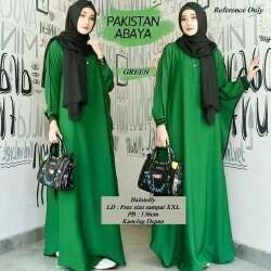 Model Baju Gamis Rempel Pinggang Abayas Wanita Pakistan