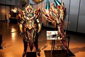 Armor And Charge Blade Monster Hunter Armor Monster
