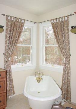 Bathroom Window Curtains Mobile Home 17 Ideas Bathroom Home