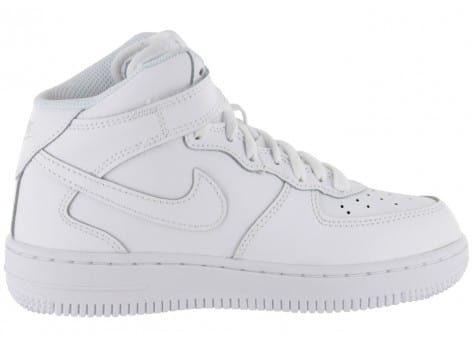 Nike Air Force 1 Mid Enfant Blanche - Chaussures Enfant ...