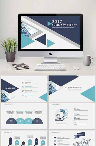 Work Summary Work Report Ppt Template Powerpoint Pptx Free Download Pikbest Free Powerpoint Templates Download Powerpoint Template Free Powerpoint Design Templates