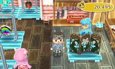Violet Screenflower Color Whitecost To Customize 238 Bells Animal Crossing New Leaf Custom