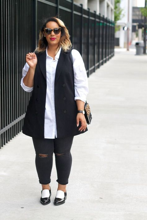 25 Trendy Fall Outfits for Plus Size Women - Mode Frauen