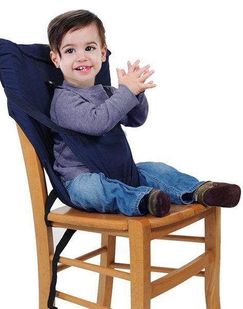GudeHome Sièges bébé Portable haute sécurité Chaise Harnais enfant pliable de…
