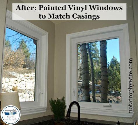 The Easy Way To Paint Vinyl Windows
