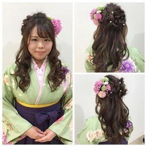 Hair Do 卒業式用 袴ヘアアレンジ おしゃれまとめの人気アイデア