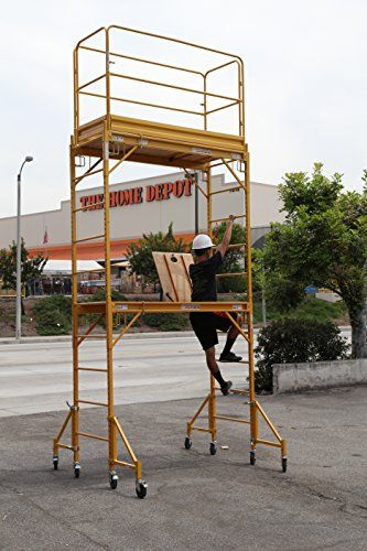 Metaltech Multipurpose Maxi Square Baker Style Scaffold Tower 12 Ft 1 000 Scaffolding Aluminium Scaffolding Double U