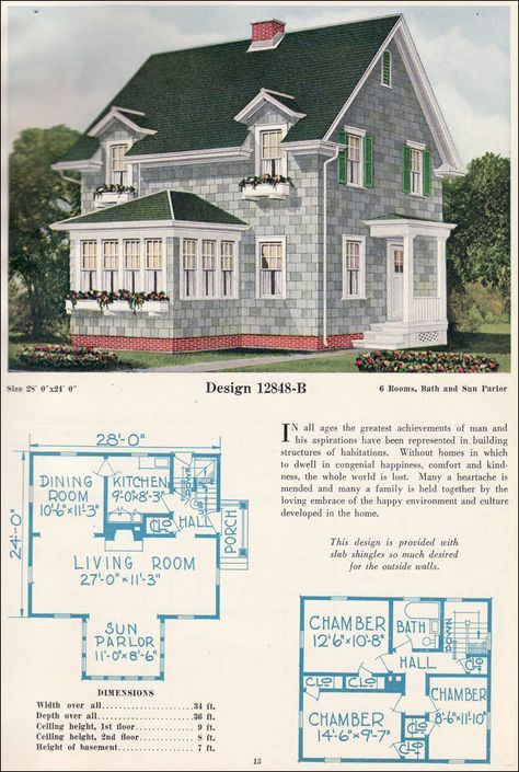 Pin By Angela Aros On Tempat Untuk Dikunjungi Vintage House Plans House Plans House Blueprints