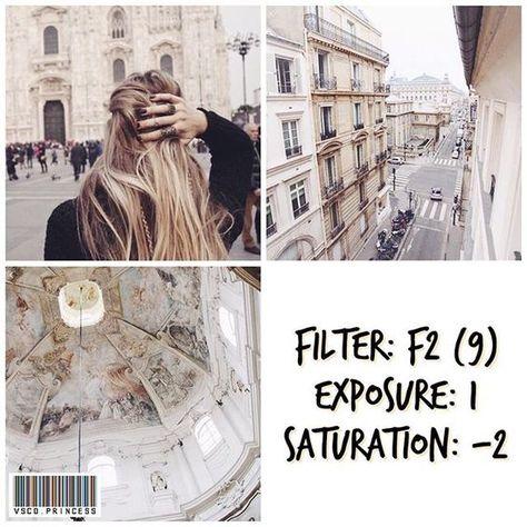 50 Filtros Vsco gratis para efeitos no Instagram | #vsco #vscocam #instagramfeed