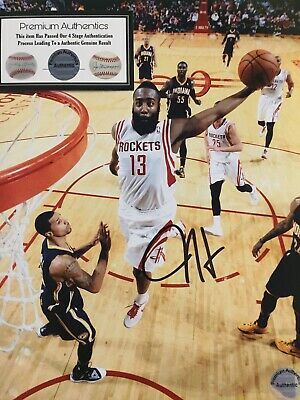 Ad Ebay Link James Harden Signed Houston Rockets 8x10 Photo Coa Houston Rockets James Harden Houston