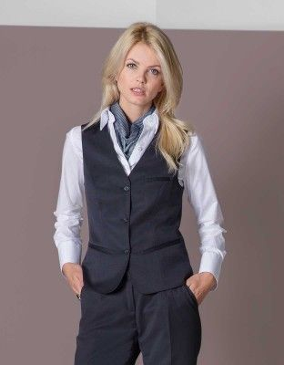 purchase cheap aa415 da0e9 Damen Weste Basic | + in 2019 | Weste, Berufsbekleidung und ...