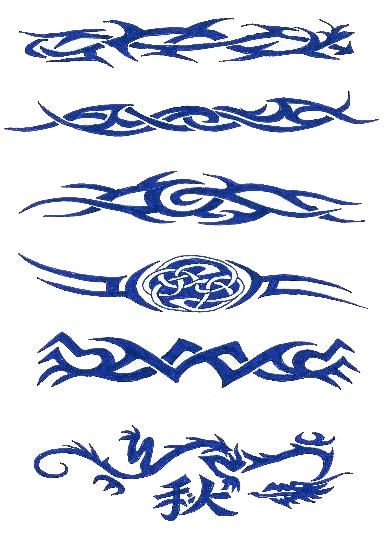 Tattoo Bilder Tattoovorlagen-Tattoo Motive: Tattoovorlagen Armband Tribal Tattoo Kostenlos