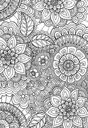 Detailed Coloring Page For Adults Pattern Coloring Pages Mandala Coloring Pages Coloring Pages