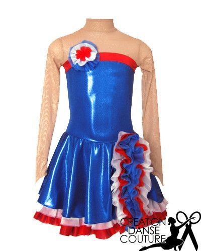 Modele French Cancan Patinage Artistique Patinage Tenue