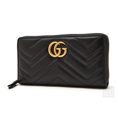8aacfb035af Gucci GG Marmont 2.0 Medium Quilted Flap Wallet (883