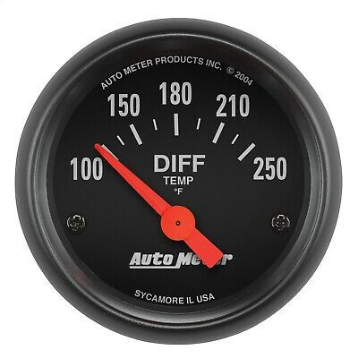 Autometer 2636 Z Series Electric Differential Temperature Gauge In 2020 Gauges Automotive Solutions Automotive Repair